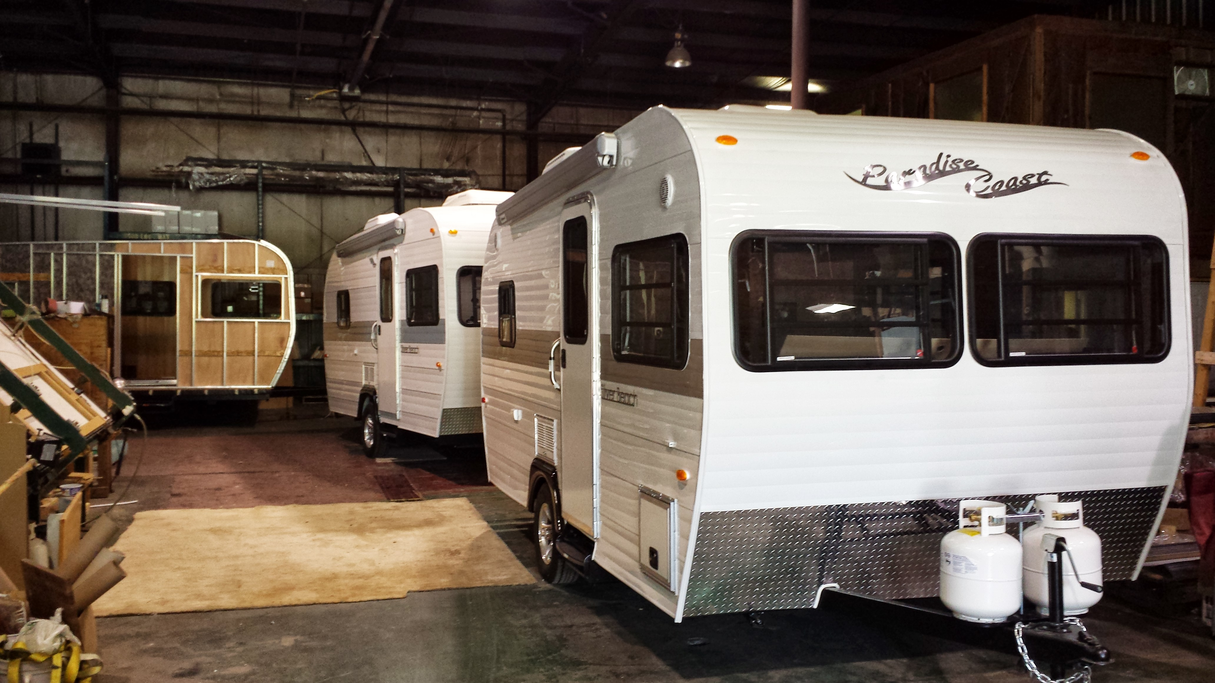Vintage Style Travel Trailers